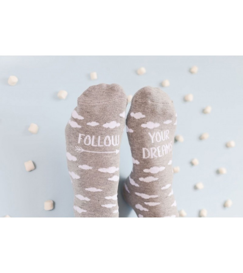 """Calcetines """"Follow your dreams"""""""