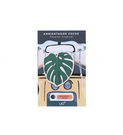 "Ambientador coche ""Monstera"""