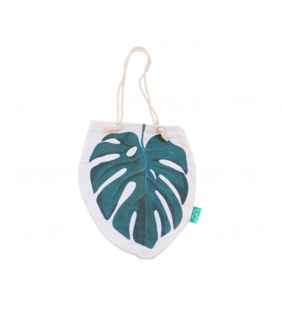 "Bolso Playa ""Monstera"""