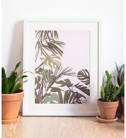 "Affiche ""TROPICAL"""